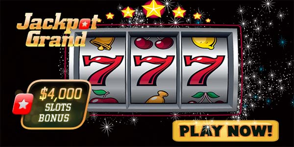 Play slots at Jackpot Grand Casino during the month of March