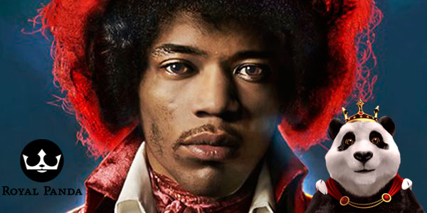 play jimi hendrix the new netenet slot on Royal Panda