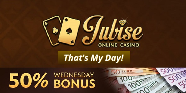 Jubise Casino Lucky Wednesday promotions