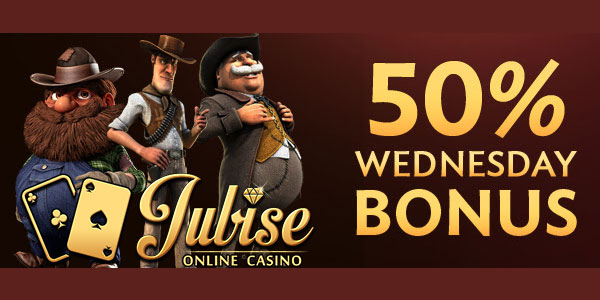 Jubise Casino Lucky Wednesday promo