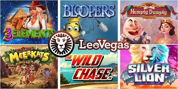 New Casino Slots to be Launched at LeoVegas Casino