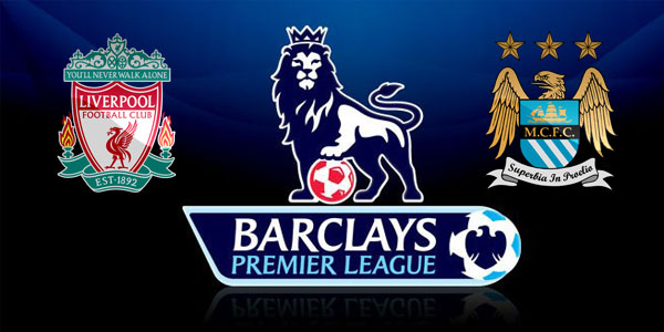Liverpool v Manchester City in the Premier League