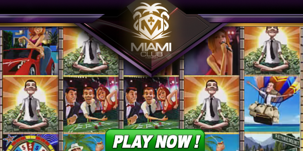 Livin' the Life slot game at Miami Club Casino
