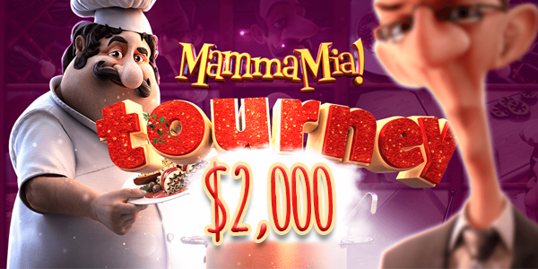 Mamma Mia slot tournament with casino cash prizes