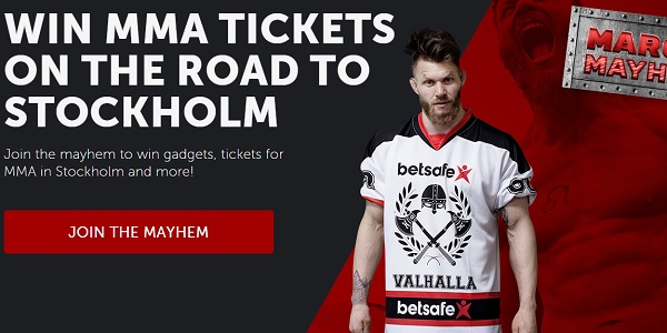 Betsafe MMA Tickets in Stockholm