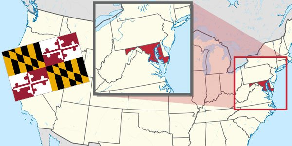Maryland Gambling Laws on sports betting, lotteries, casinos, daily fantasy sports