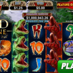 Play the New Megasaur Video Slot at Grand Fortune Casino