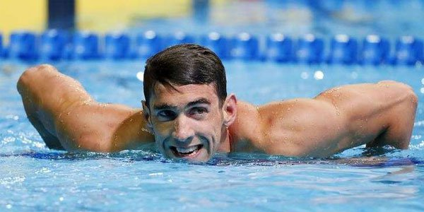 It is true: Michael Phelps at Rio 2016!