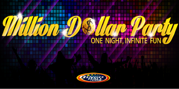 Bingo Hall Free Million Dollar Promo