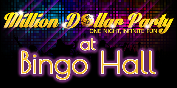 Bingo Hall Million Dollar Online Bingo Party promo