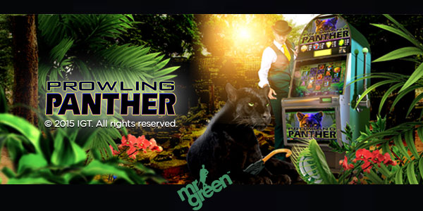 Place wagers of EUR10 in the Prowling Panther slot game from 29th January to 8th February.