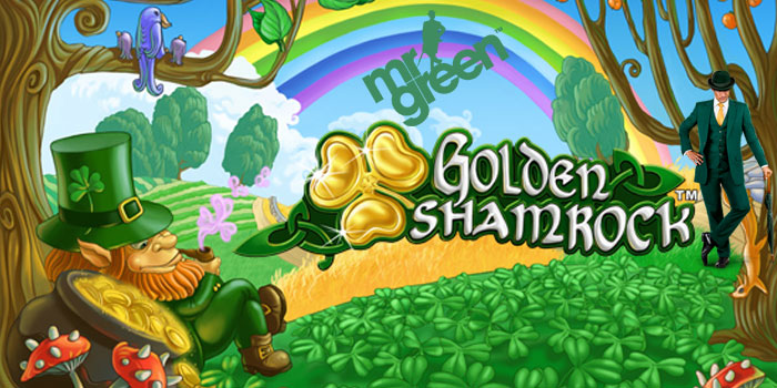 Mr Green Casino is offering free spins this St Patrick's Day Festival