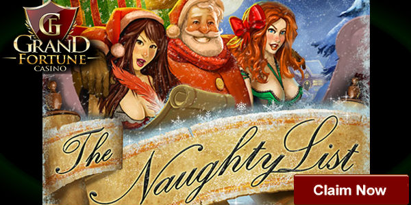 Grand Fortune Casino Releases The Naughty List, an Entertaining Christmas Themed Slot