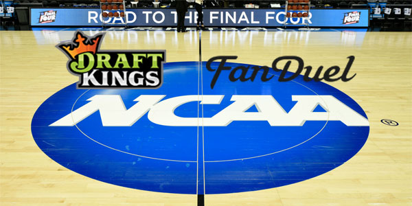 NCAA DFS Contests Stopped by DraftKings and FanDuel daily fantasy sports operators real-money college sports fantasy contests