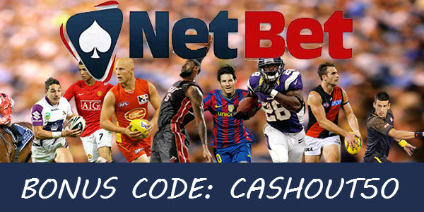 Use Your Online Betting Bonus Code to Grab Some Extra Cash up to €50 at NetBet Sportsbook!