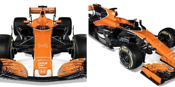 Alonso Orange McLaren MCL32