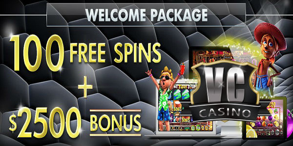 Vegas Crest Casino Welcome Package