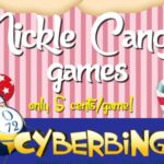 Win Big with Nickle Candy Bingo at the CyberBingo Happy Hour