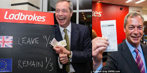 Brexit Odds Manipulation By Bookies in UK