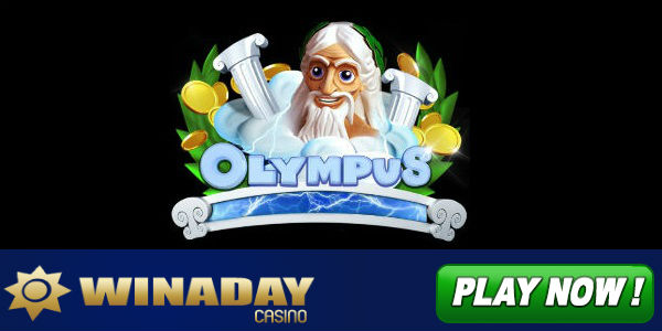 Olympus slot at WinADay Casino