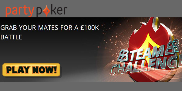 Win Your Share of Party Poker's Prize Pot Which Could Reach GBP 100,000