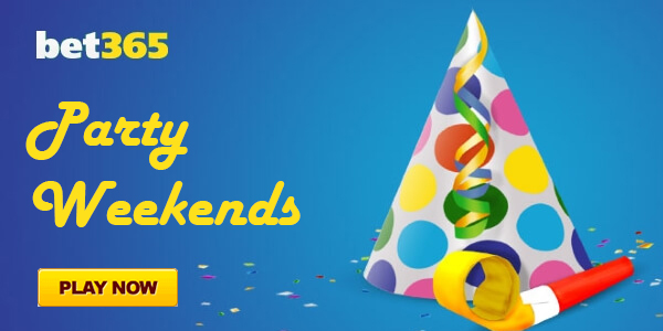 Win a Share of £550,000 with the Party Weekends Promotion at Bet365 Bingo!