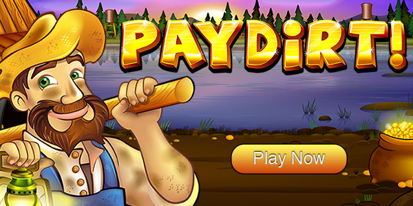 Raging Bull Casino Pay Dirt Slot promo