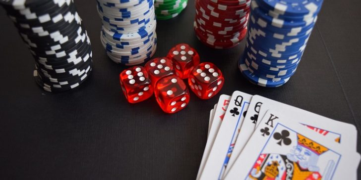 Poker Cards and Dice