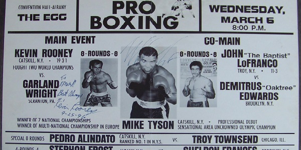 Hector Fernandez, Albany, NY, knock-out, first round, 1985