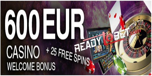 READYtoBET Casino Welcome Bonus
