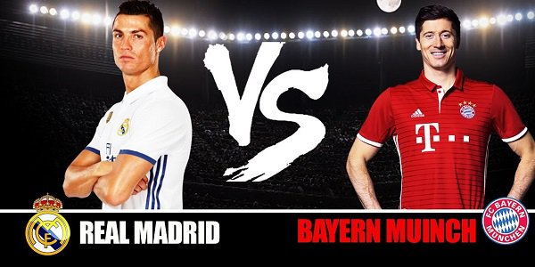 Real Madrid vs Bayern Munich Odds