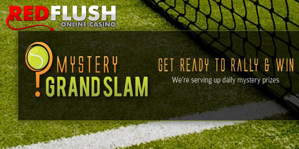 Red Flush Casino offers the great mystery prize until February 2