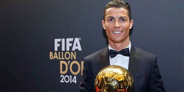 Ronaldo Favourite for ballon d'or