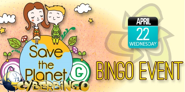 Glam Up Your Earth Day with $ 150 at CyberBingo