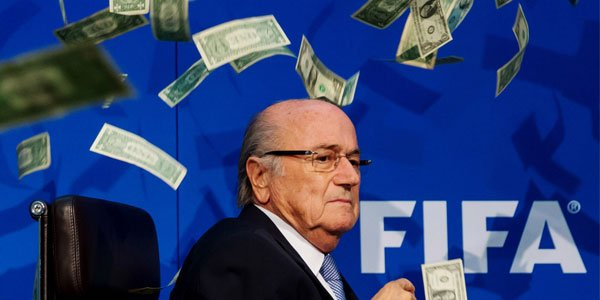 Blatter Pretends Corruption In Sport Is Not Really A Crime