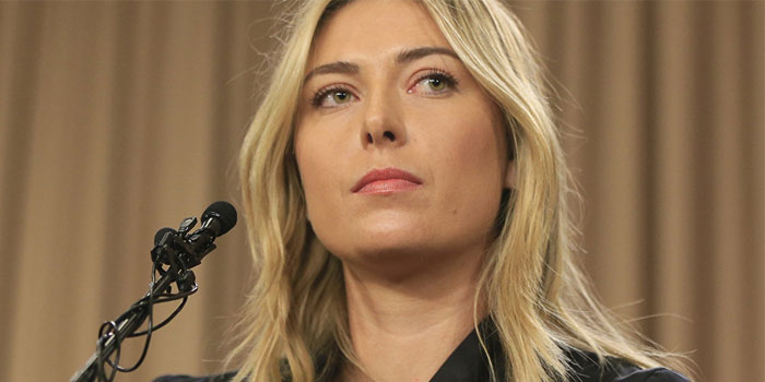 Sharapova press conference about her doping suspension
