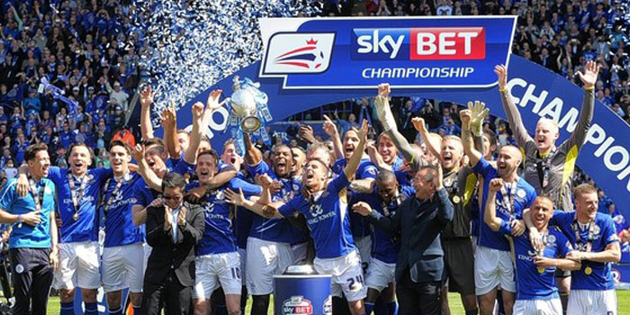 Leicester City could win the Premier League after winning the Championship in 2014