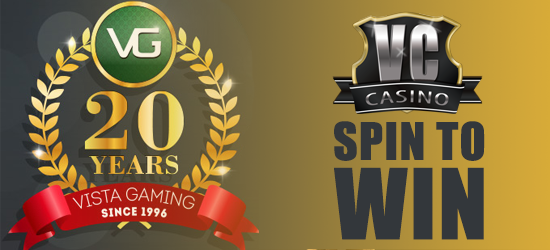 Vegas Crest Casino Win a share of £144,000 promo