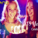 Series of casino freebies and bonuses at Slotland Casino for their 18th anniversary!