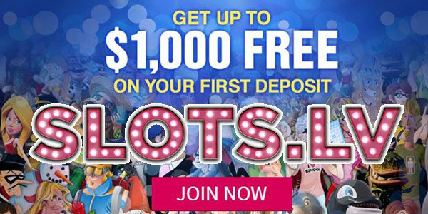 Use Your $5,000 Casino Welcome Bonus on Any Casino Game at Slots.lv Casino!