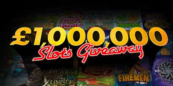 Bet365 Casino GBP 1 million Slots Giveaway