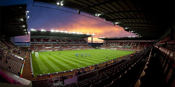 Stoke City, home to stadium sponsorship deal