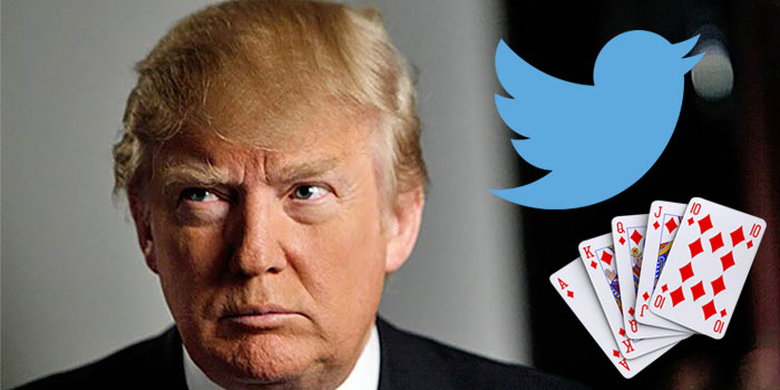 Famous poker stars tweets about Trump
