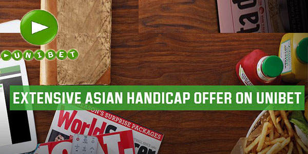 Asian Handicap offer can be used at Unibet Sportsbook to get big rewards