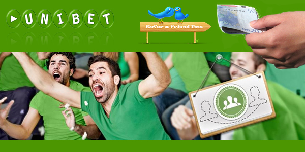 Unibet Sportsbook Refer-a-friend Bonus