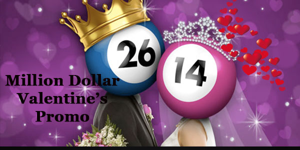 Valentine will never be the same again, not after Bet365 Bingo GBP1,000,000 Slots Giveaway