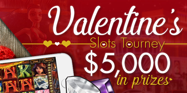 Valentine's day slot tournament