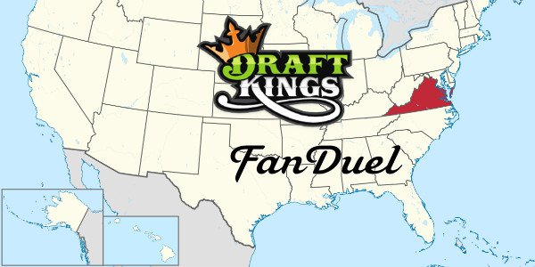 Legal DFS in Virginia to Be Limited to Big Companies DraftKings and FanDuel with high registration license fees?