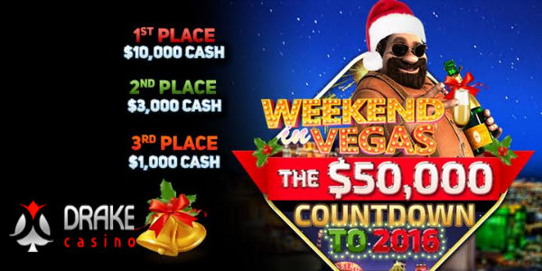 Countdown to 2016 at Drake Casino