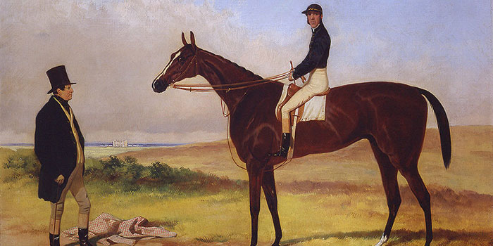 a portrait of West Australian one of the most famous racehorses of all time